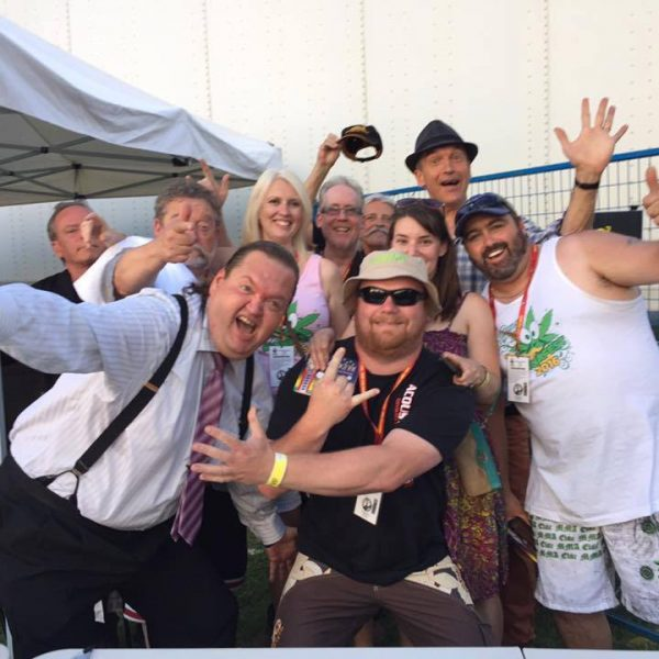Doug and the Slugs at CannaFest 2016